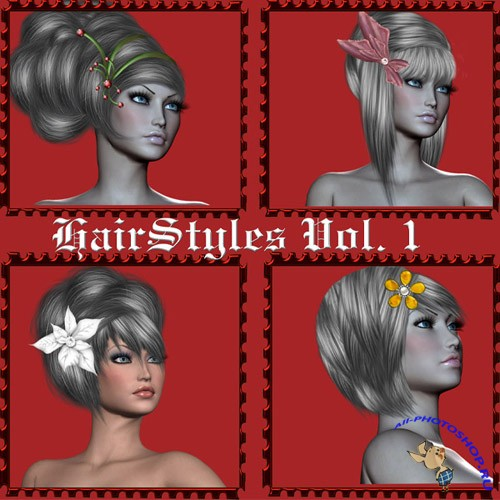 Painted Hairstyles Vol 1