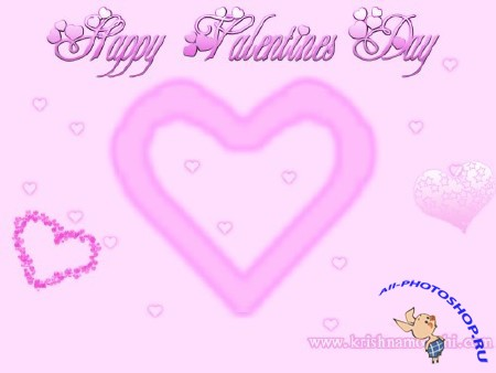 Обои ко дню святого Валентина / Happy Valentine's Day Wallpaper Classic (2011)