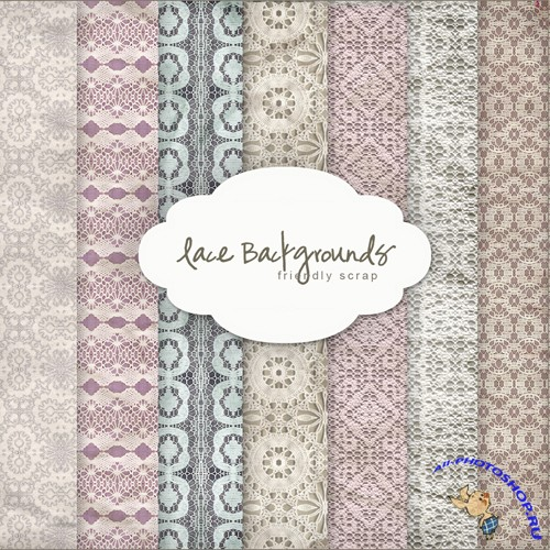 Textures - Lace Backgrounds