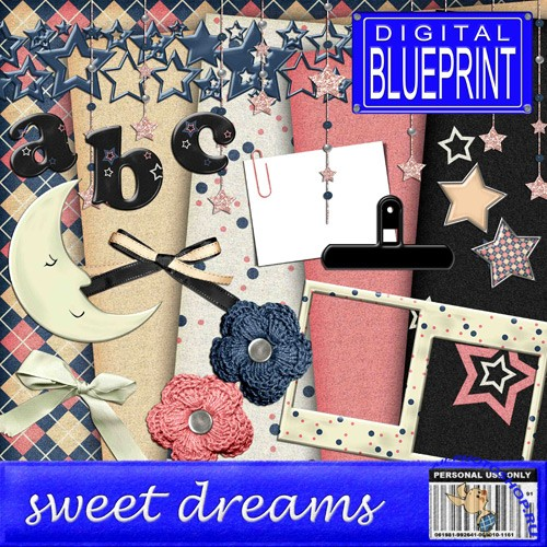 Scrap-set - Sweet Dreams