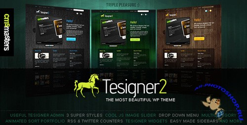 Tesigner - Creative Portfolio WordPress