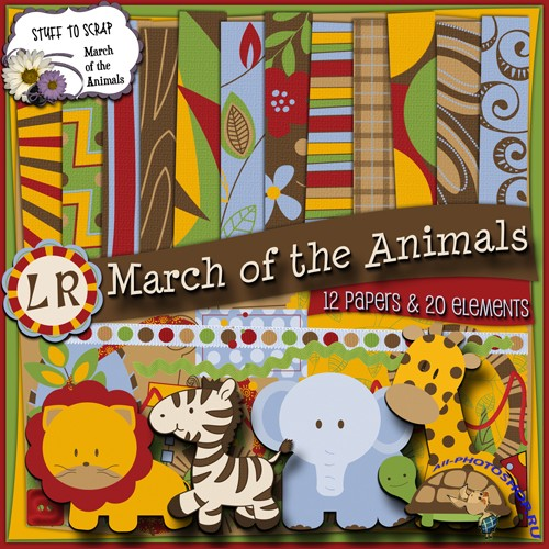 Scrap-set - March Of The Animals