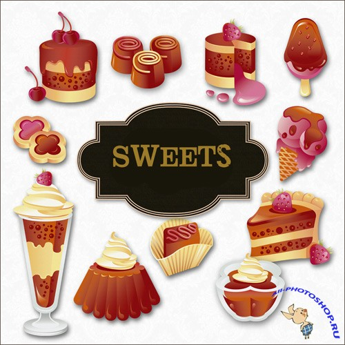 Scrap-kit - Chocolate Sweets