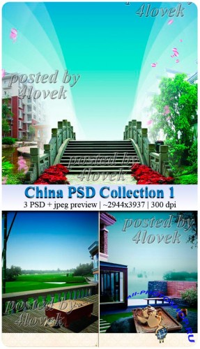 China PSD Collection 1