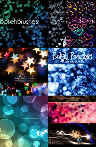 Кисти для Photoshop - Bokeh Set