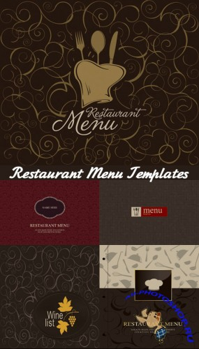 Restaurant Menu Templates - Stock Vectors