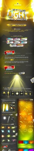 Lifetime Light Awesomizers ( Effects Collection ) - GraphicRiver