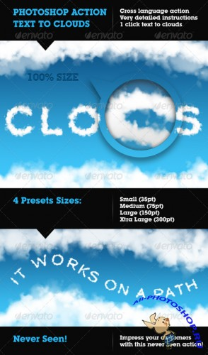 GraphicRiver Cloudify - Text to Clouds