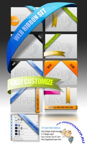 GraphicRiver Web Elements - Featured Box
