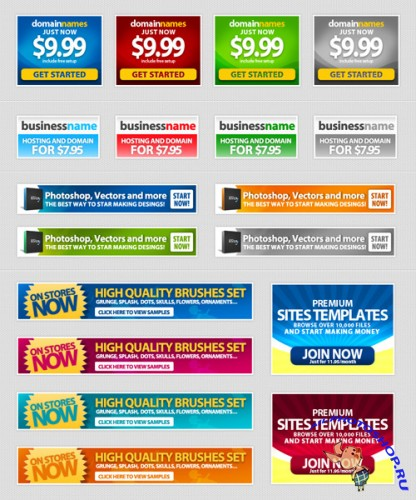 Web Banners - GraphicRiver