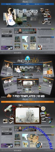 Photo Club Templates PSD Nr.85