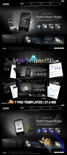 Mobile Templates PSD Nr.106