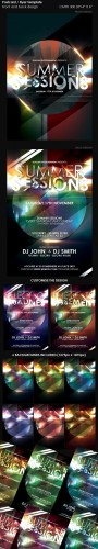 GraphicRiver Flyer Postcard Template