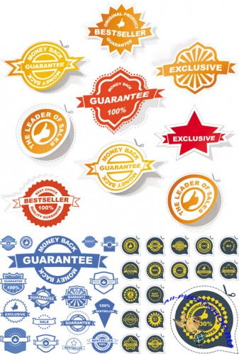 Labels and Signs Vector