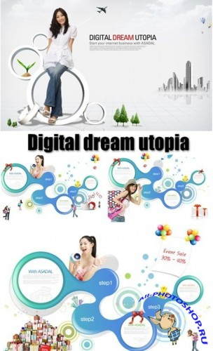 Digital dream utopia