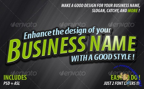 Enhancer Business Name (GraphicRiver)
