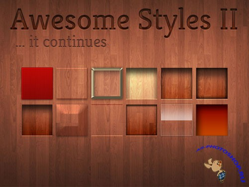 Awesome Wood Styles for Photoshop