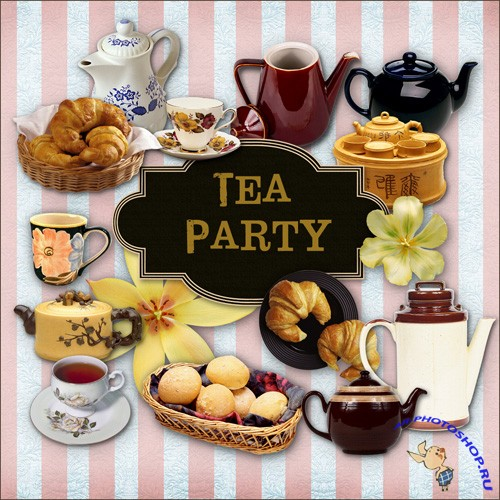 Scrap-kit - Tea Party
