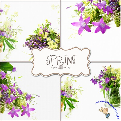 Textures - Spring Backgrounds #3