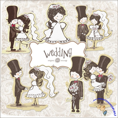 Scrap-set - Wedding Kit