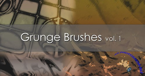Grunge Brushes for Photoshop Vol. 1
