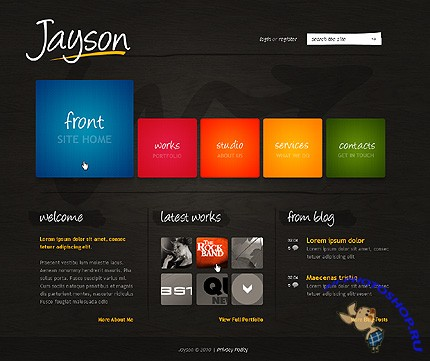 Jayson Design Website Free Template