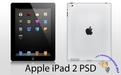 Apple iPad 2 PSD HighRes