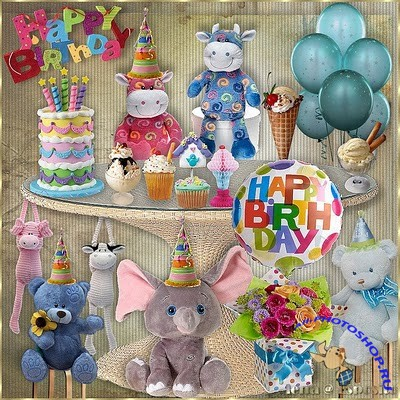 Scrap-set - Happy BirthDay #1