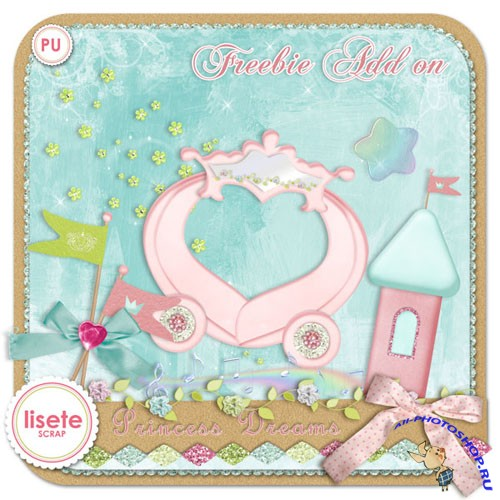 Scrap-set - Princess Dreams