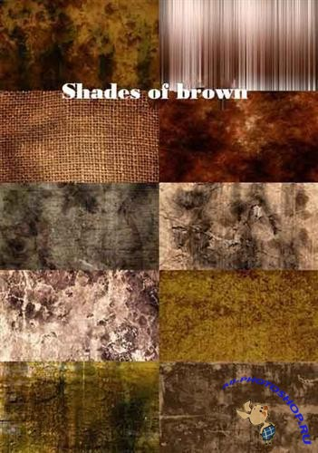 Shades of brown - backgrounds