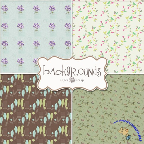 Textures - Spring Backgrounds #5