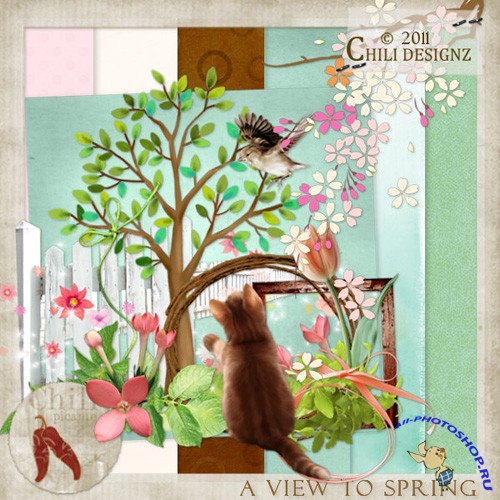 Scrap-set - A View To Spring