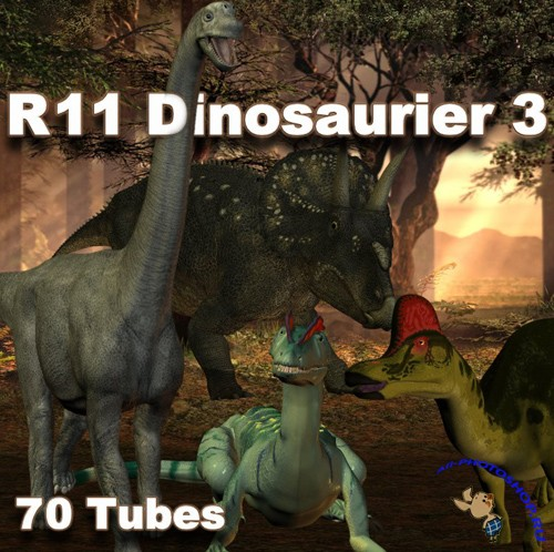 PNG Cliparts - Dinosaurier 3