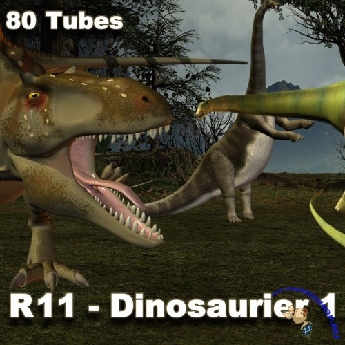 PNG Cliparts - Dinosaurier 1