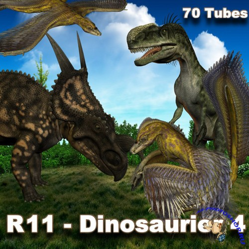 PNG Cliparts - Dinosaurier 4