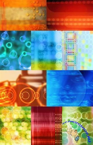 Abstract Backgrounds yellow and blue