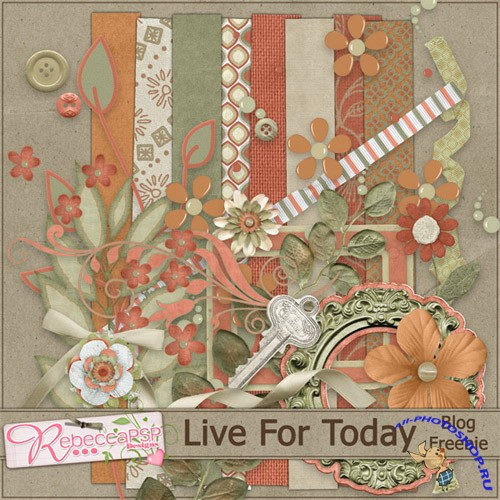 Scrap-set - Live For Today