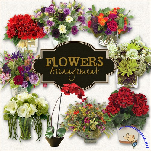 Scrap-kit - Flowers Arrangement II