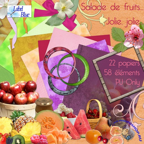 Scrap-set - Salade De Fruit