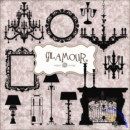 Scrap-kit - Glamour Style Set