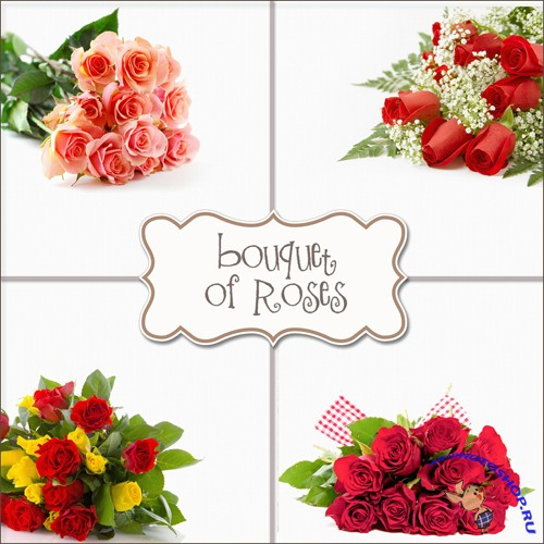 Backgrounds - Bouquets Roses