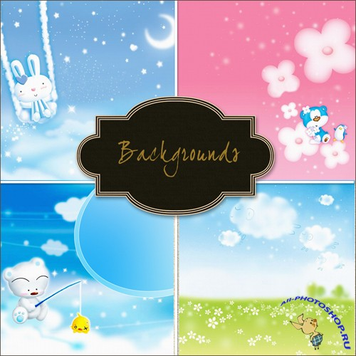Colored Baby Backgrounds