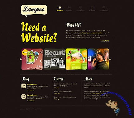 Web Design Company CSS Free Website Template
