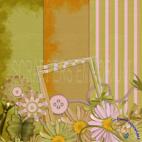 Scrap-set - Shabby Chic