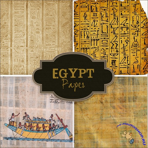 Backgrounds - Egypt Paper