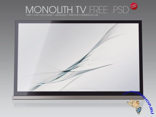 PSD-source - Monolith TV