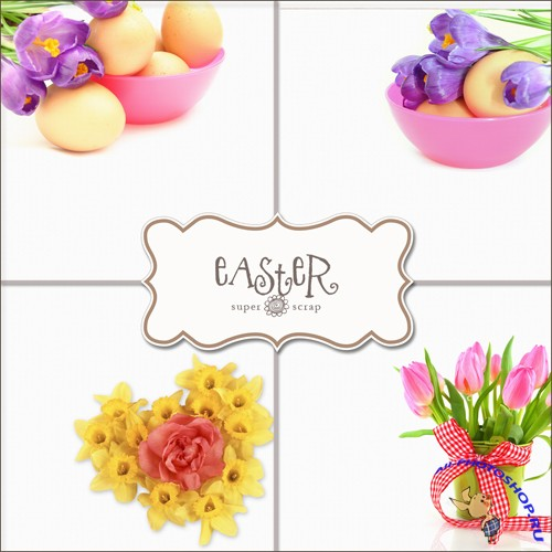 Textures - Easter Backgrounds #4