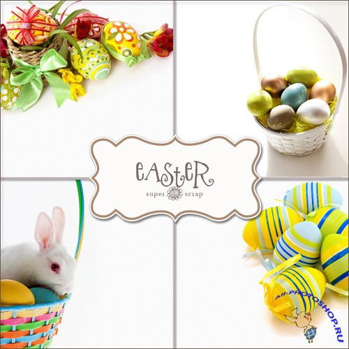 Textures - Easter Backgrounds #5