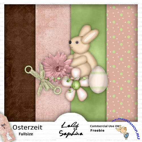 Scrap-set - Lovely Easter Time