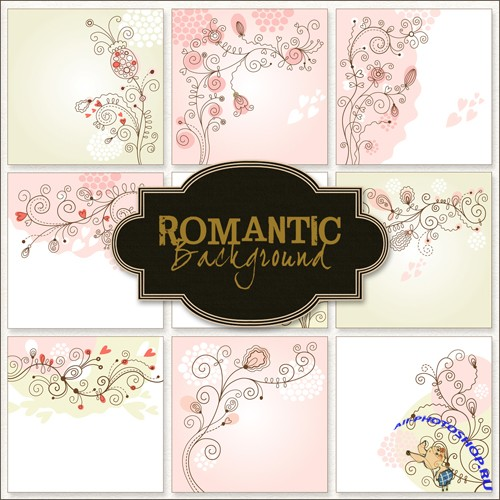 Textures - Romantic Backgrounds